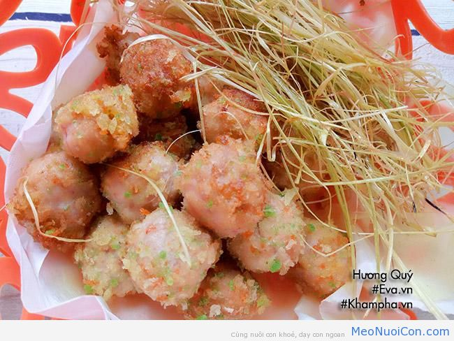 cha tom thit nhan pho mai chien gion rum be nao cung me - 8
